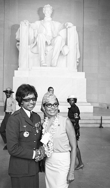 Josephine with Lena 1963 March on Washington