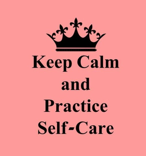 Keep Calm Self care