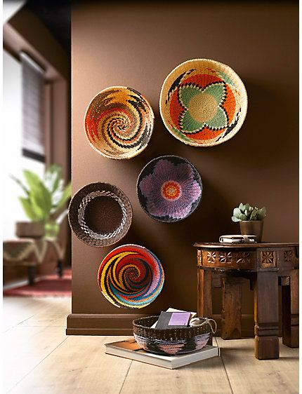 Decorating with baskets archives splendid habitat for African house decoration