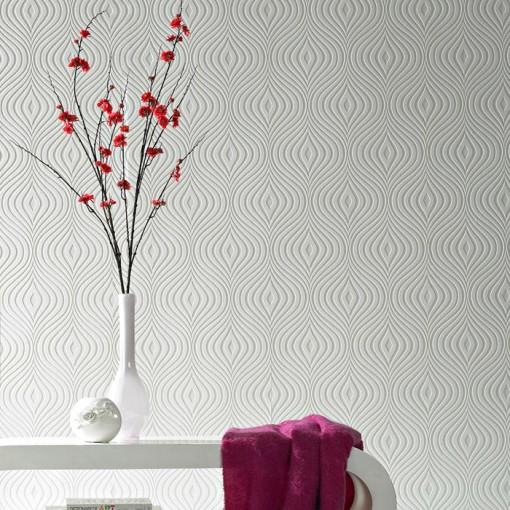 G& Brown Curvy wallpaper