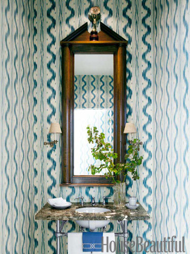 Pierre Frey's Toiles de Nantes wallpaper