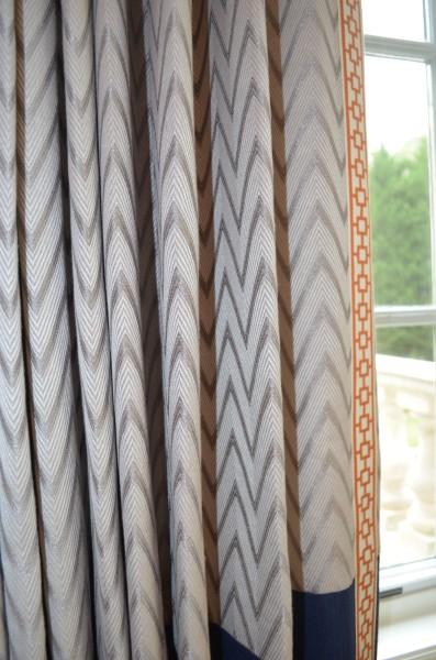 ASO show house drapes Vern Nip