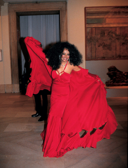Diana Ross Met Opera Ball 2010
