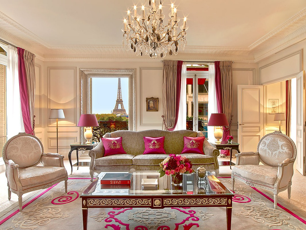 Paris luxury hotels for Hotel design france