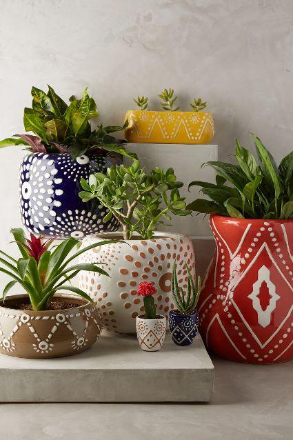 Leta garden pots anthropologie