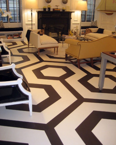 Paint The Floors And Get A Fresh New Look On The Cheap