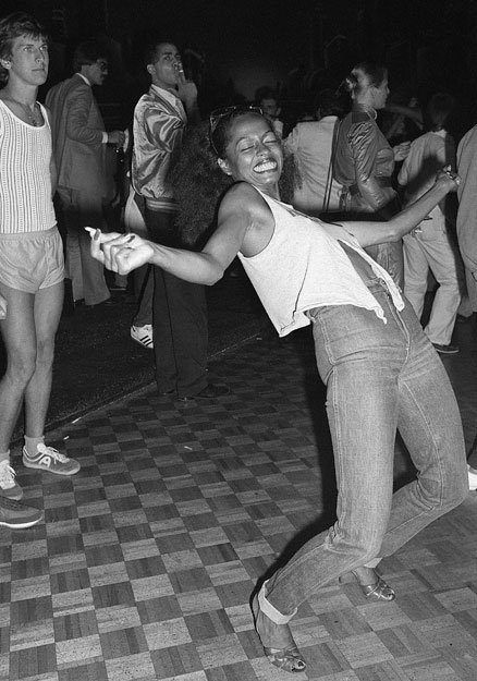 Ross at Studio 54 dancing 1970s