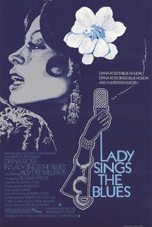 Lady Sings the Blues poster Diana Ross