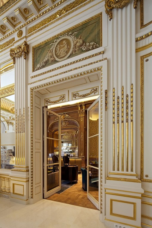 Paris luxury hotels for Hotel paris design