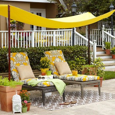 Create a canopy - Fab Outdoors