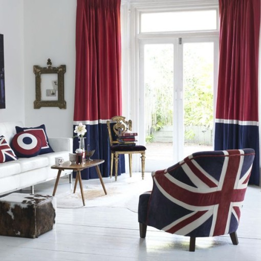 British style makers for Decoration murale union jack