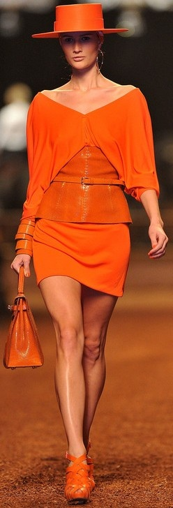 Hermes Tangerine - Spring 2015 color trends