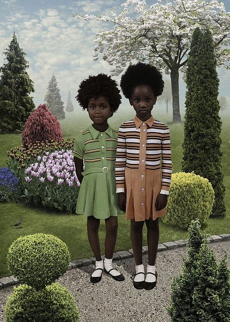 Ruud Van Empel - girls au naturale