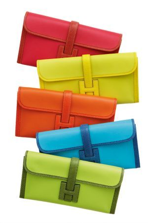Spring 2015 color trends - Hermes wallet