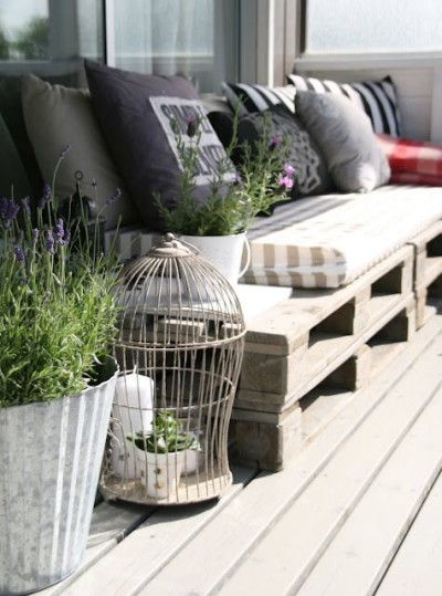 Pallet sofa - Fab Outdoors