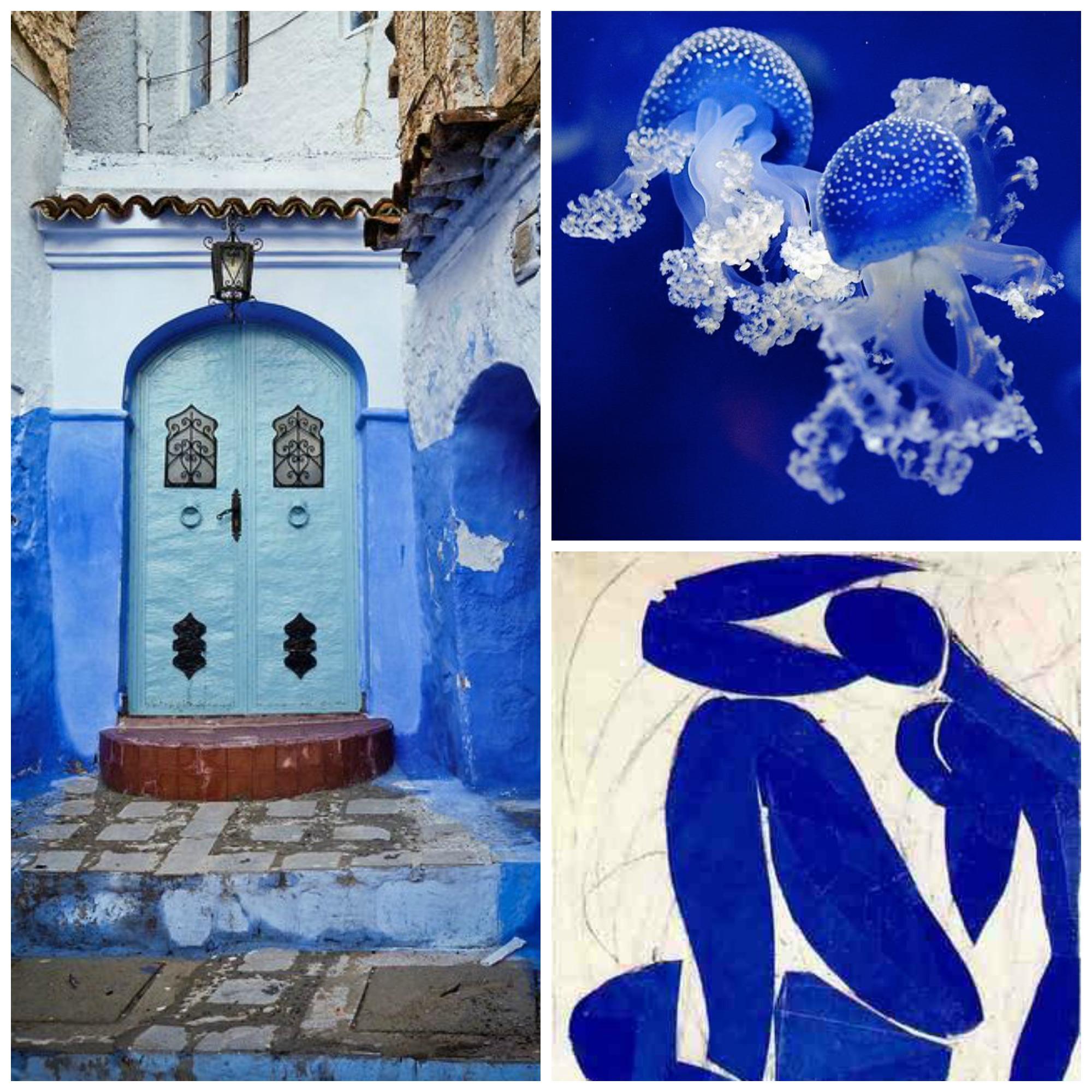 Art Blue Collage