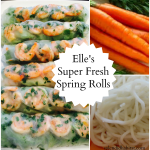 Splendid & Super Fresh Elle's Shrimp Spring Rolls