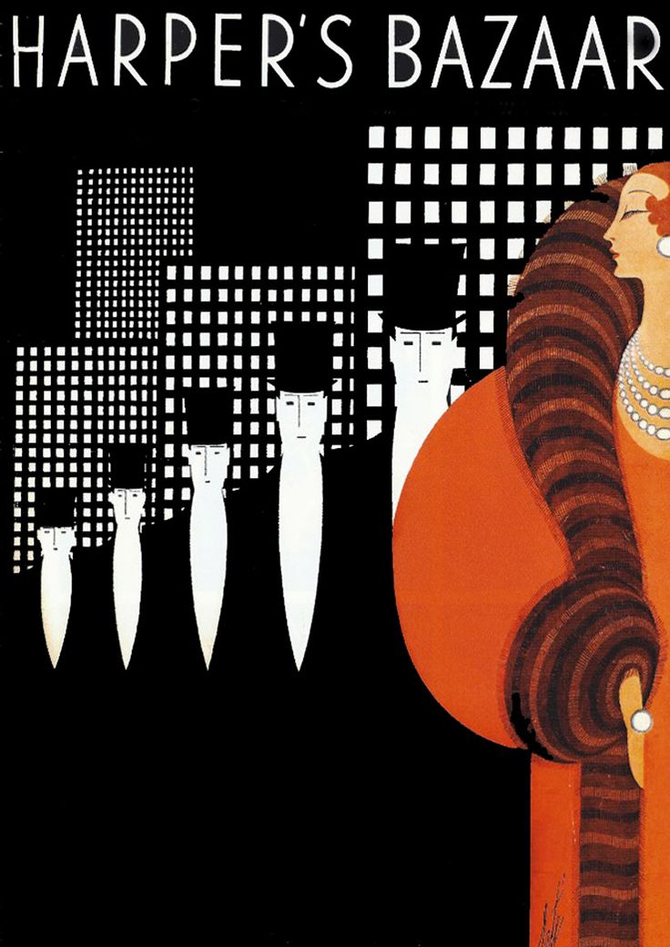 Art deco master erte 39 for Deco design magazine
