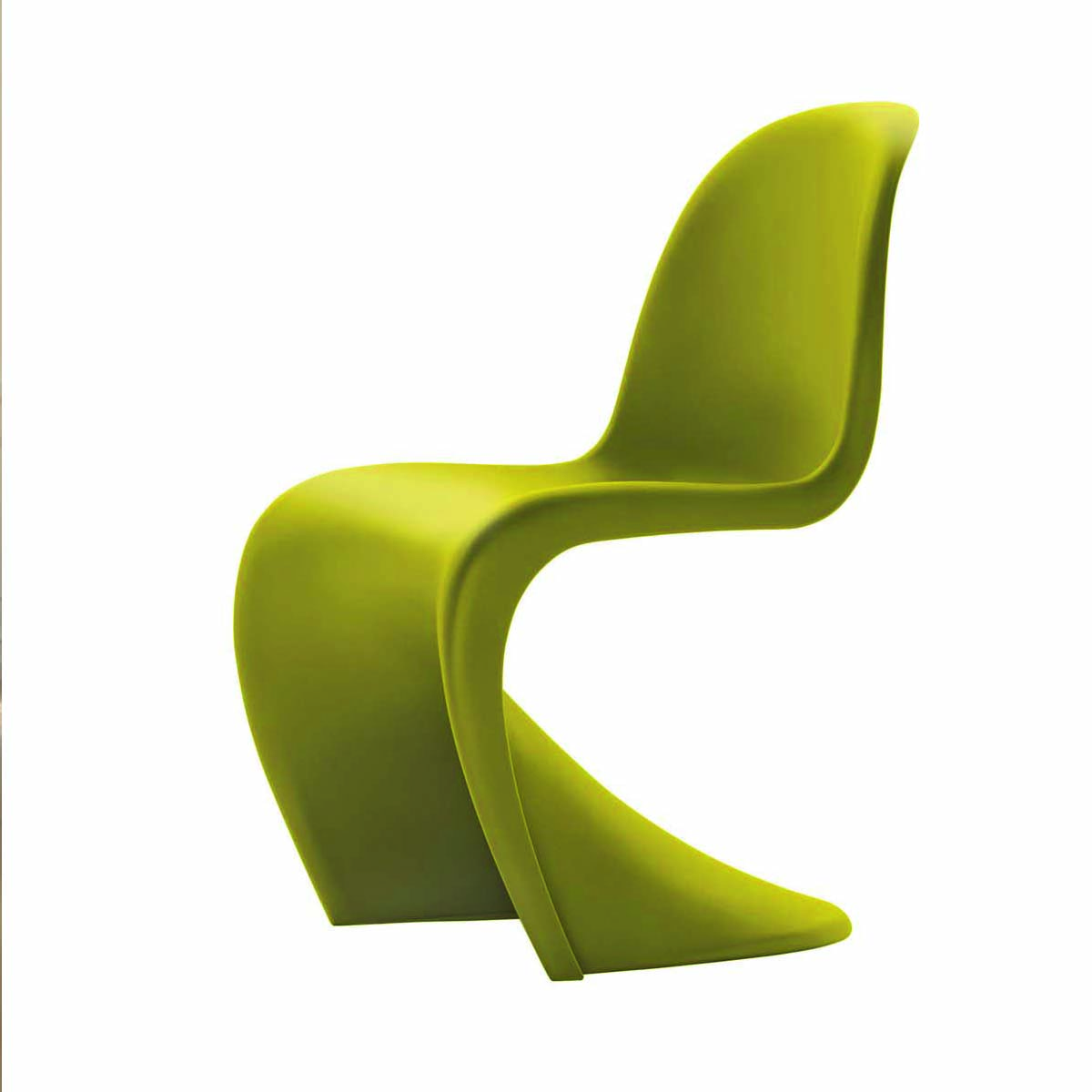 Panton Chairs Green Chartreuse