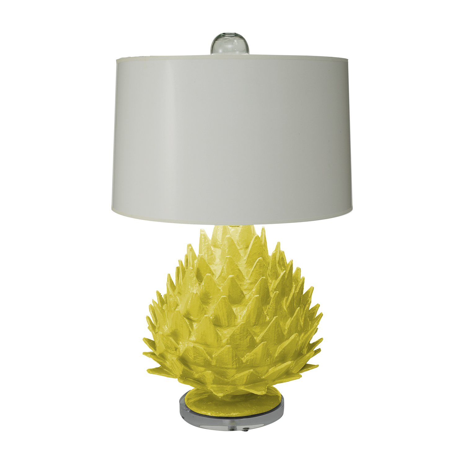 Decorating with chartreuse for Artichoke decoration