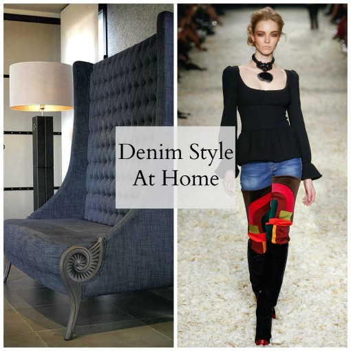 Great Denim Style In Fashion And At Home
