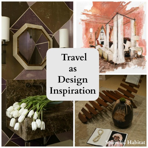 Behind the windows - Travel as Design Inspiration