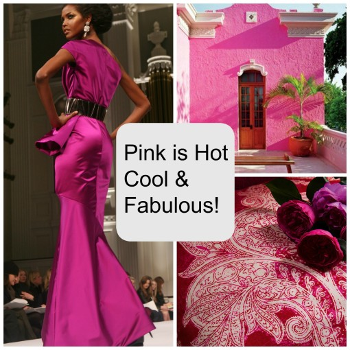 Color Palette: Pink Is Hot, Cool and Fabulous!