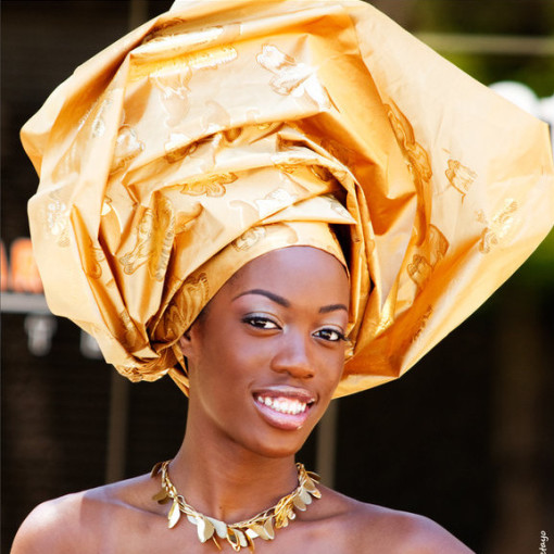 A DIY Art Project Inspired by History and Modern Fashion ... Traditional African Fashion Headdress