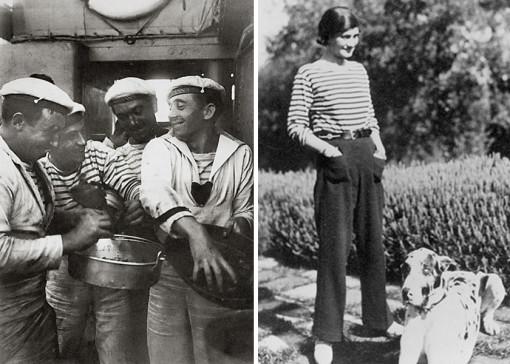 Coco Chanel Style Icon Sailor look