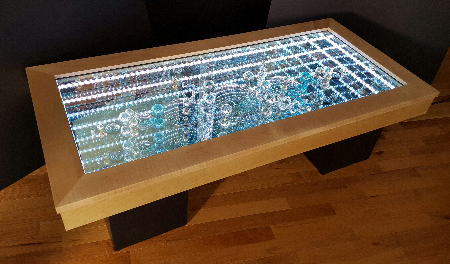 Infinity Art table - American Craft SHow