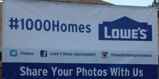 1000 Homes w Lowes & Habitat