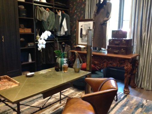 Michel Boyd - men's closet