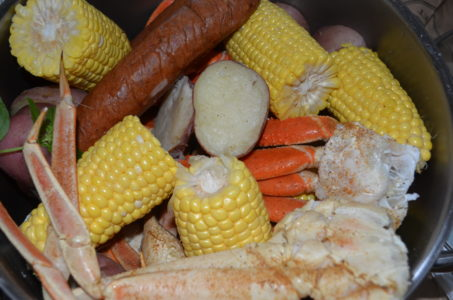 steamed seafood boil low country - Splendid Habitat