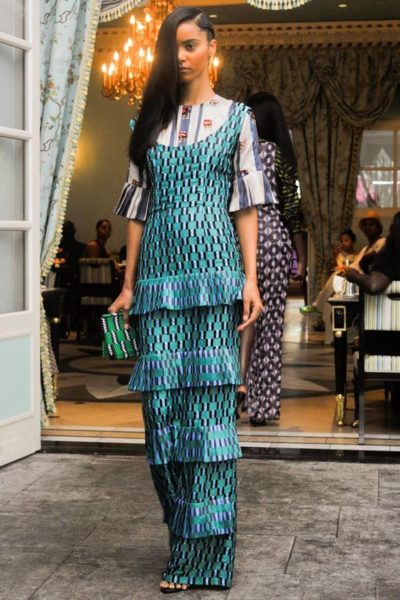 Lisa Folawiyo known for her embellished ankara fashions