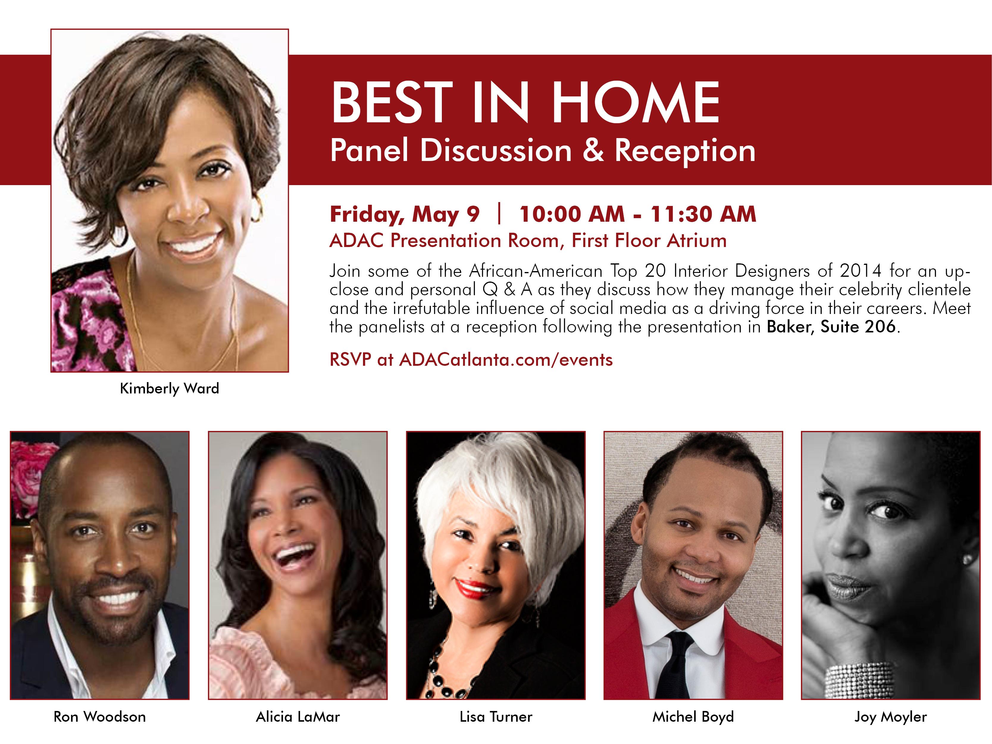 Adac Hosts Top African American Interior Designers Panel